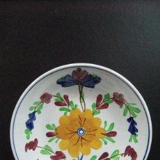 Antigüedades: PLATO SIGLO XIX CHOISY LEROI FRANCIA PINTADO A MANO. Lote 48881410