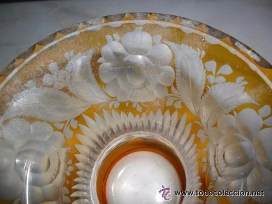 Antigüedades: Antiguo florero tallado - Foto 5 - 118669047