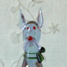 Antigüedades - Perro de cristal murano - 48888980