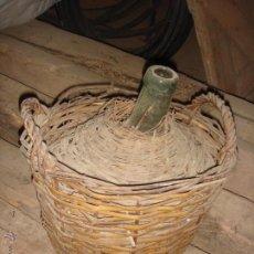 Antigüedades: ANTIGUA GARRAFA MEDIANA DE CRISTAL PARA VINO DE LOS AÑOS 20. Lote 46670832