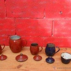 Antigüedades: LOTE ANTIGUOS PUCHEROS,PUCHERO,METAL ESMALTADO,BUEN PRECIO. Lote 48901145