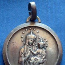 Antigüedades: MEDALLA RELIGIOSA EN BRONCE . Lote 48906569
