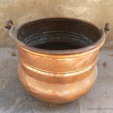 Antigüedades: CAZUELA DE COBRE. Lote 48915112