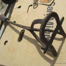 Antigüedades: ANTIGUO HIERRO FORJADO PARA MARCAR GANADO . Lote 48920675