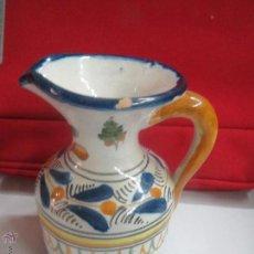 Antigüedades: JARRA DE TALAVERA FIRMADA.. Lote 48921256