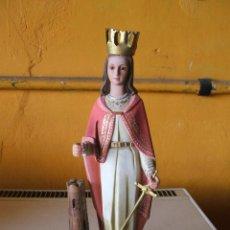 Antigüedades: SANTA BÁRBARA. ARTE MODELO, OLOT.. Lote 210708039