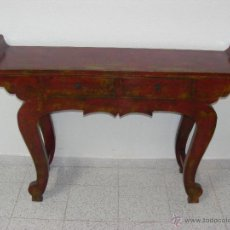 Antigüedades: CONSOLA CHINA. Lote 48937653