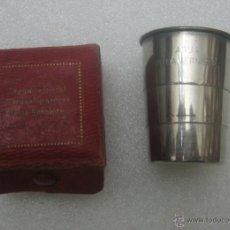 Antigüedades: VASO PLEGABLE AGUAS DE LA VERNIERE. Lote 48942083
