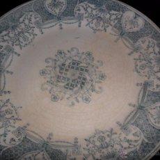Antigüedades: PICKMAN SEVILLA - ANTIGUO PLATO DE COLECCIÓN. Lote 48942174