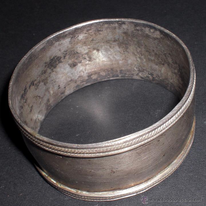 SERVILLETERO PLATA (Antigüedades - Platería - Plata de Ley Antigua)