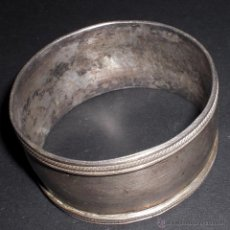 Antigüedades: SERVILLETERO PLATA. Lote 48942951