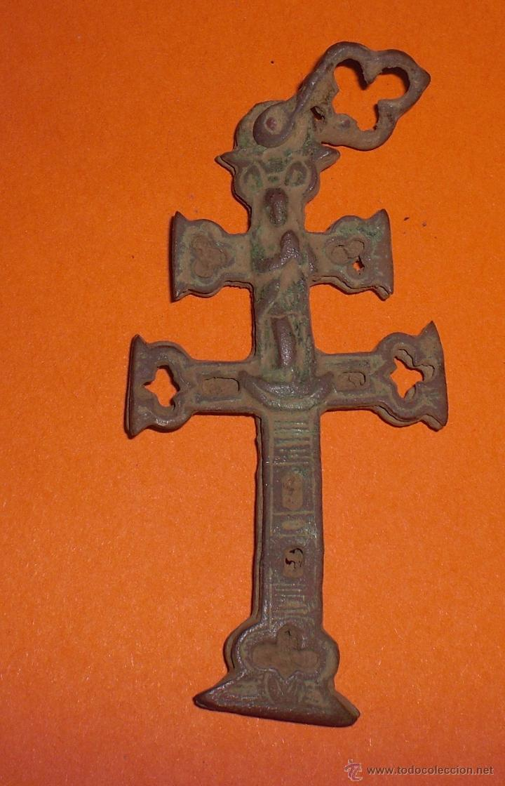 CRUZ DE CARAVACA SIGLO XIX (Antigüedades - Religiosas - Cruces Antiguas)