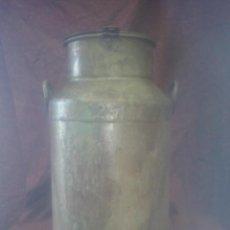 Antigüedades: CANTARA LECHERA GRANDE DE CHAPA. 25 LITROS LEER DESCRIPCION. Lote 48969296
