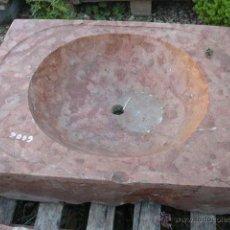 Antigüedades: FREGADERO DE PIEDRA. Lote 48972380