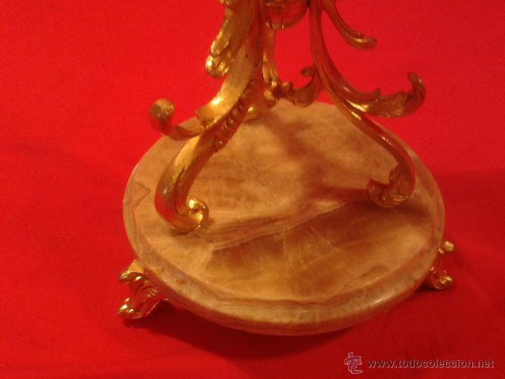 Antigüedades: Candelabro de 4 brazos - Foto 3 - 48981670