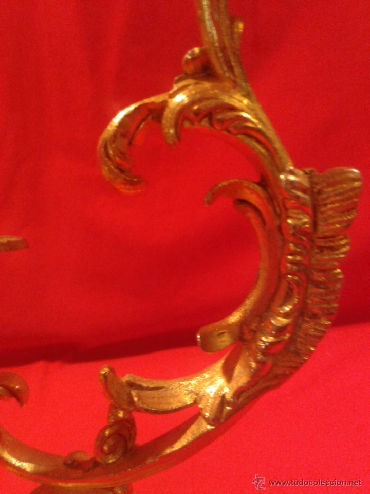 Antigüedades: Candelabro de 4 brazos - Foto 4 - 48981670