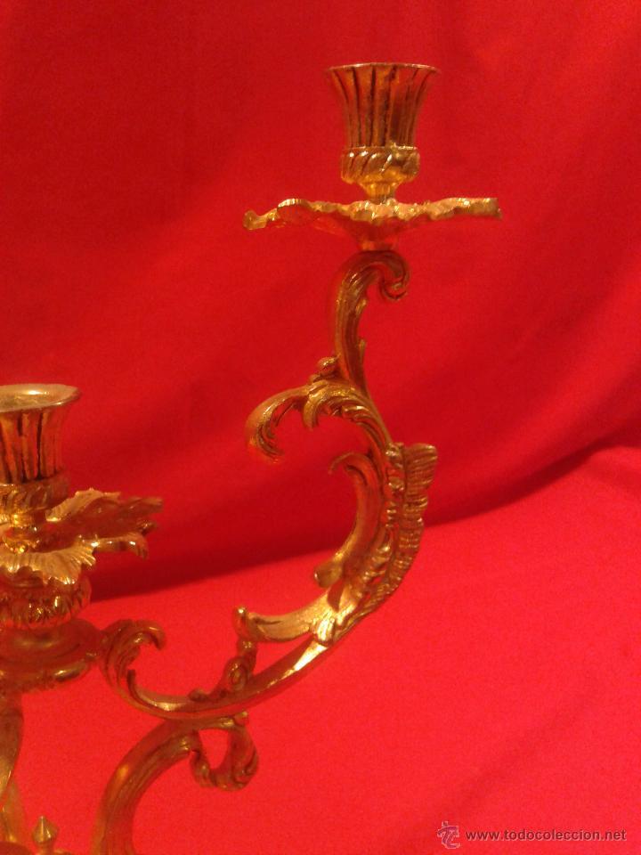 Antigüedades: Candelabro de 4 brazos - Foto 5 - 48981670