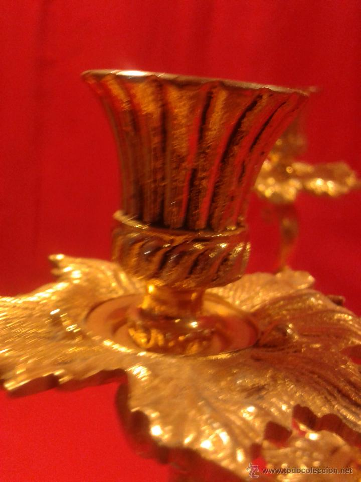 Antigüedades: Candelabro de 4 brazos - Foto 7 - 48981670