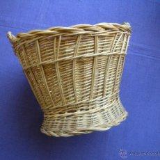 Antigüedades: ANTIGUO CESTO DE COSTURA. Lote 49012895