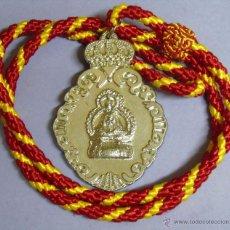 Antigüedades: MEDALLA MEDALLÓN RELIGIOSO. SANTUARIO VIRGEN DE LA CABEZA, ANDÚJAR, JAEN. Lote 49018700