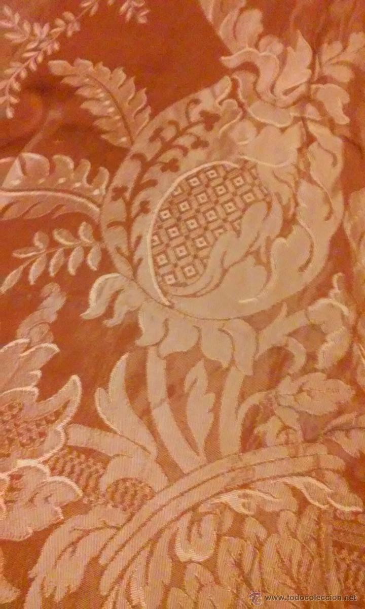 Antigüedades: antigua colcha matrimonio - Foto 2 - 49040056