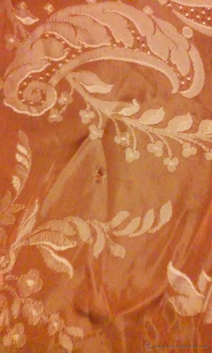 Antigüedades: antigua colcha matrimonio - Foto 3 - 49040056