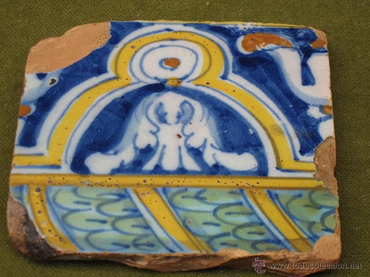 Azulejo antiguo de talavera de la reina o toled comprar - Azulejos reina ...