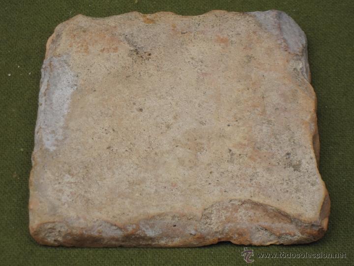 Antigüedades: AZULEJO ANTIGUO DE TALAVERA DE LA REINA O TOLEDO. SIGLO XVII. - Foto 3 - 49044425