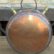 Antigüedades: RARISIMO BOTIJO COBRE, SIGLO XIX, BUENA PIEZA. Lote 49097455