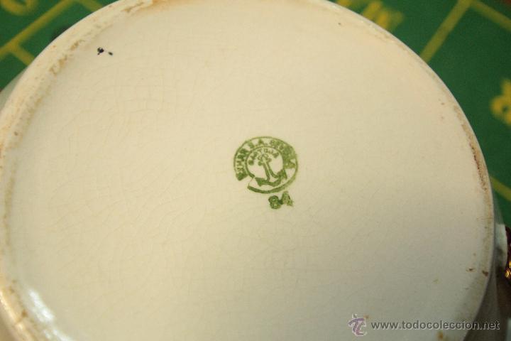 Antigüedades: PRECIOSO ORINAL ESCUPIDERA ORIGINAL LA CARTUJA, BIEN CONSERVADO -REF3500- - Foto 5 - 49118524