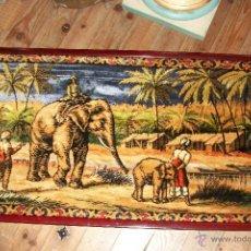 Antigüedades: TAPIZ MOTIVOS INDIOS. Lote 49130203