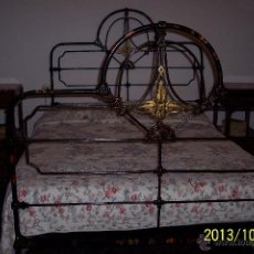 Impresionante cama antigua siglo xix en hierro comprar - Camas antiguas de hierro ...