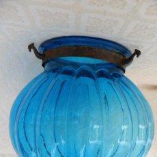 Antigüedades: ANTIGUA LAMPARA / TULIPA MODERNISTA. Lote 49135788