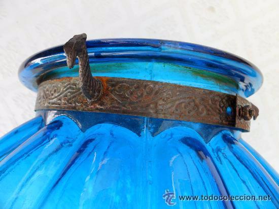 Antigüedades: Antigua lampara modernista - Foto 5 - 49135788