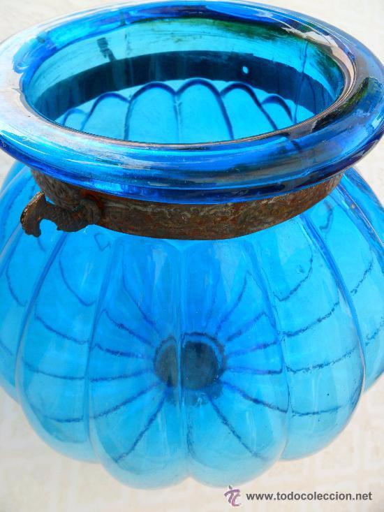 Antigüedades: Antigua lampara modernista - Foto 6 - 49135788