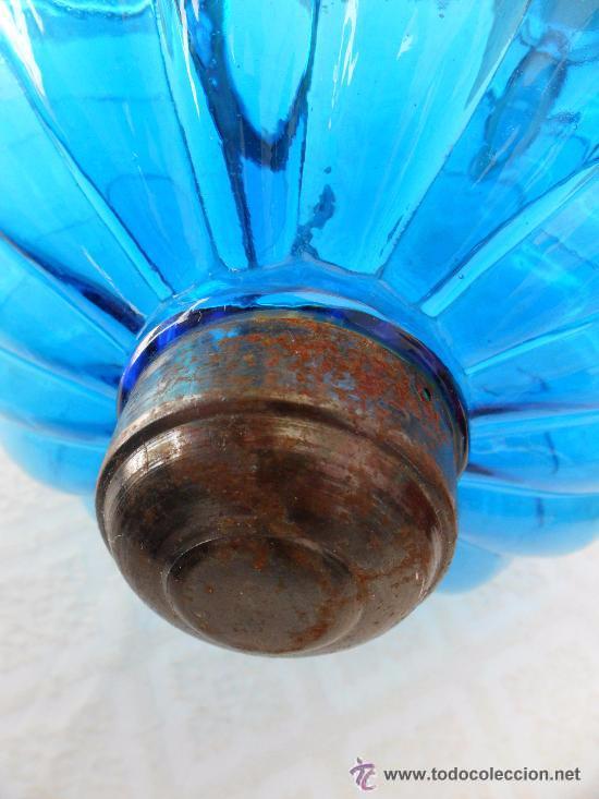 Antigüedades: Antigua lampara / tulipa modernista - Foto 10 - 49135788