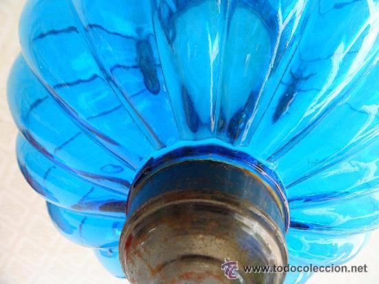 Antigüedades: Antigua lampara / tulipa modernista - Foto 11 - 49135788