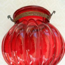 Antigüedades: ANTIGUA LAMPARA / TULIPA MODERNISTA. Lote 49135858