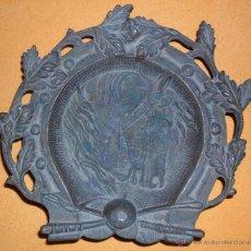 Antigüedades: ANTIGUA BANDEJA METAL. Lote 49137029