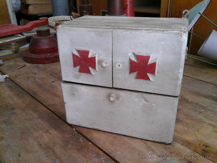 Botiquin antiguo comprar armarios antiguos en todocoleccion 49143850 - Botiquin antiguo ...