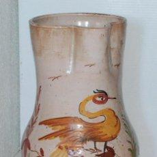 Antigüedades: GRAN JARRÓN PARAGÜERO CERAMICA TALAVERA. Lote 49145152