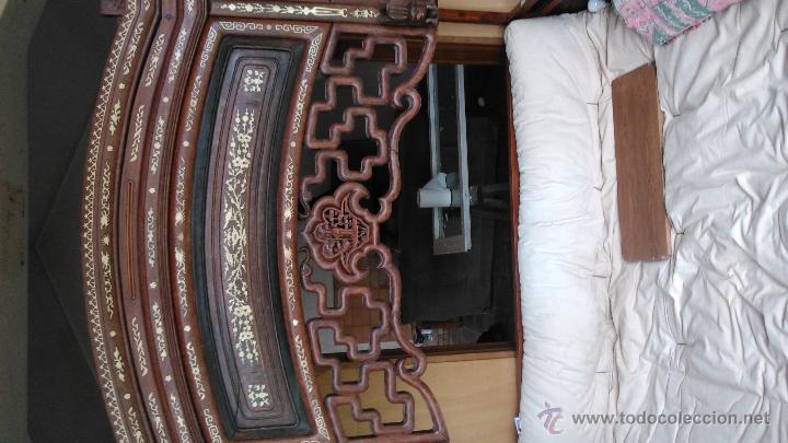Antigüedades: Espectacular cama china procedente de un palacio - Foto 4 - 49151946