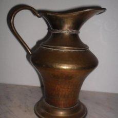 Antigüedades: ANTIGUA JARRA METALICA. Lote 49152425