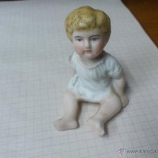 Antigüedades: ANTIGUA FIGURA NIÑO BISCUIT. Lote 49182573