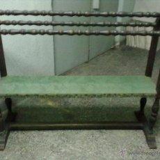 Antigüedades: GABANERO BURRO DE ROBLE TALLADO PARA RESTAURAR. Lote 49198277