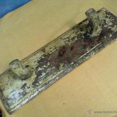 Antigüedades: RUSTICO PERCHERO MADERA COLGADOR OLMO. Lote 49198845