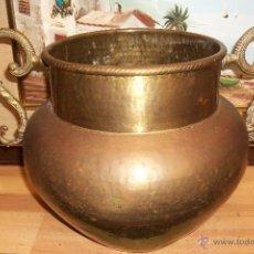 Antigüedades: ANTIGUA VASIJA DE BRONCE. Lote 49203179
