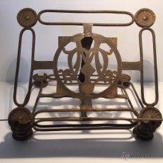Antigüedades: ATRIL DE ALTAR BRONCE.. Lote 49207388