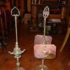 Antigüedades: DOS LÁMPARAS ESPAÑOLAS. Lote 49213152