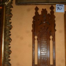 Antigüedades: CAPILLA DE MADERA.. Lote 49213881
